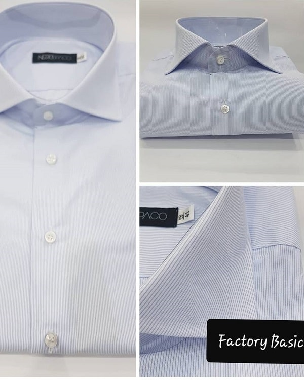 comprare popolare 7189a ece45 Camicia Sartoriale Uomo Cotone Mille Righe