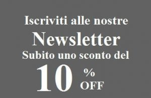 Factory Basic Sconto Newsletter
