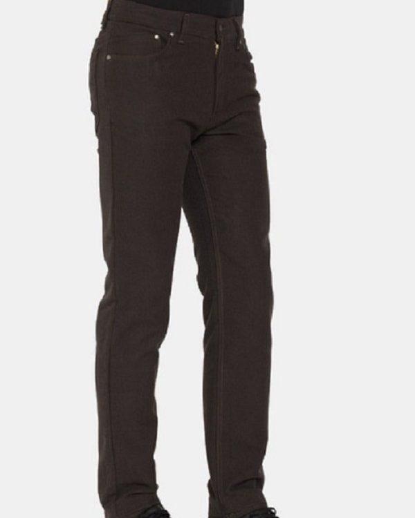 Pantalone Fustagno da Uomo Carrera 700 Regular Marrone