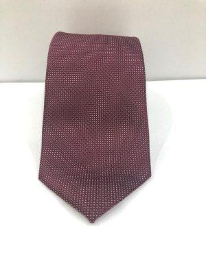 Cravatta Artigianale Pura Seta Bordeaux