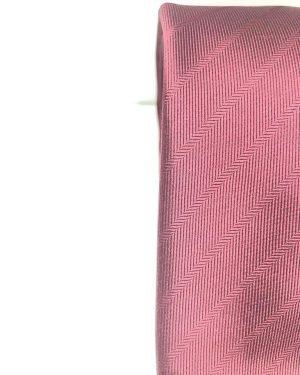 Cravatta Artigianale Pura Seta Regimental Bordò