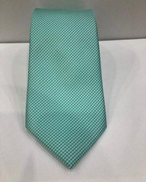 Cravatta Artigianale Pura Seta Verde-Chiaro