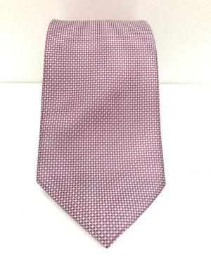Cravatta Artigianale Pura Seta Bordò