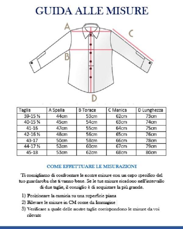 buy popular 8b091 f2ec8 Camicia Sartoriale Uomo Cotone Mille Righe
